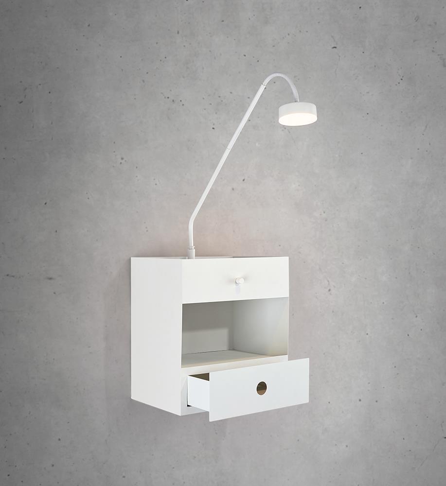 DRAW Wall lamp 1L White
