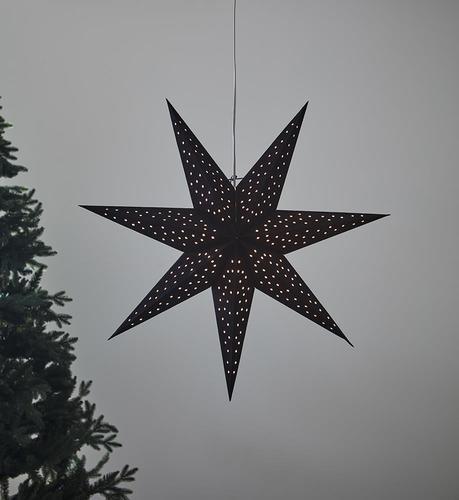 CLARA pendant Star 75 Black