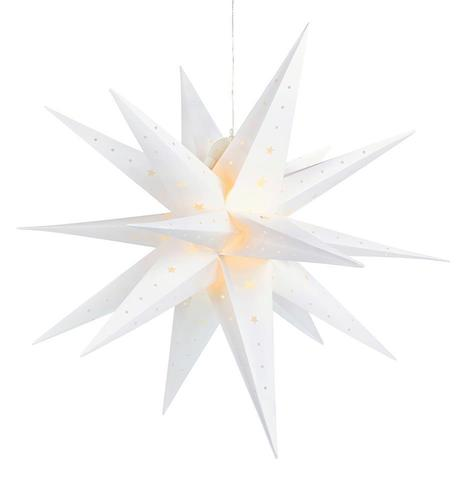 VECTRA 3D plastic stars 80 cm IP44