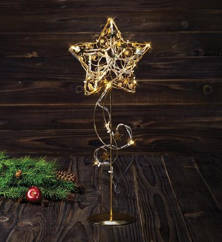 HAGABERG table decoration 45cm Gold