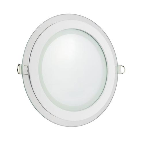 Eco Led Round 230 V 6 W Ip20 Nw Ceiling Glass Waves
