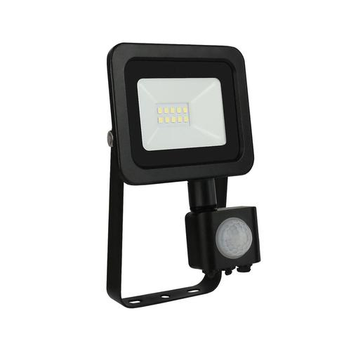 Noctis Lux 2 Smd 230 V 10 W Ip44 Nw Black With Sensor