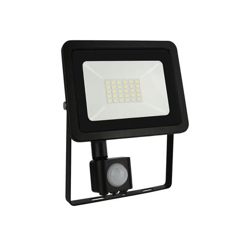 Noctis Lux 2 Smd 230 V 20 W Ip44 Nw Black With Sensor
