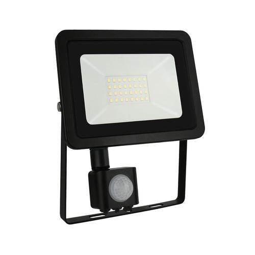 Noctis Lux 2 Smd 230 V 30 W Ip44 Cw Black With Sensor
