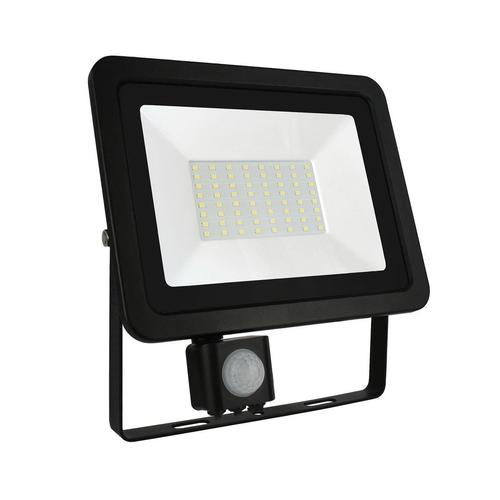 Noctis Lux 2 Smd 230 V 50 W Ip44 Nw Black With Sensor