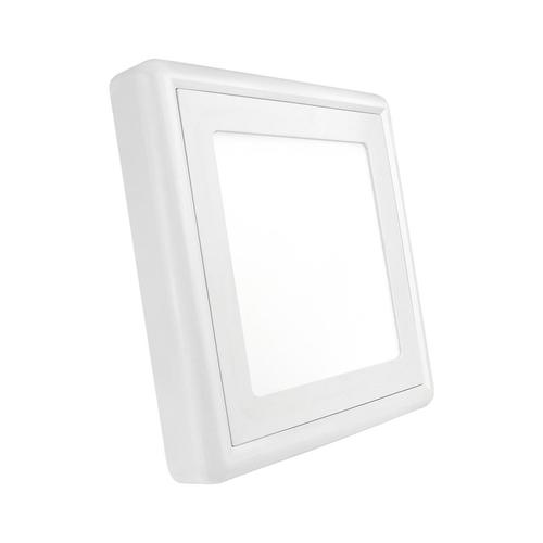 Algine Eco Ii Led Square 230 V 12 W Ip20 Cw Surface mounted