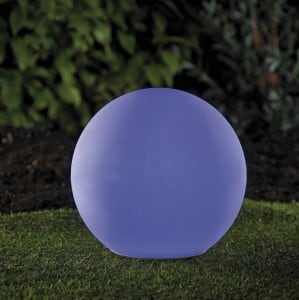 Solar garden ball and USB 34cm LED color, waterproof small 6