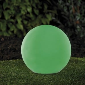 Solar garden ball and USB 34cm LED color, waterproof small 7