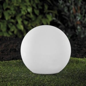 Solar garden ball and USB 34cm LED color, waterproof small 9