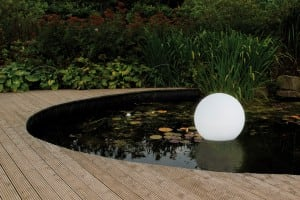 Solar garden ball and USB 34cm LED color, waterproof small 2