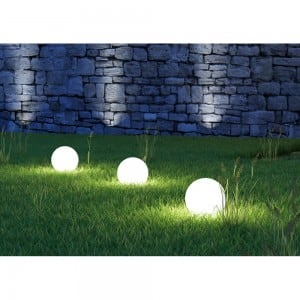 Solar garden ball and USB 34cm LED color, waterproof small 10