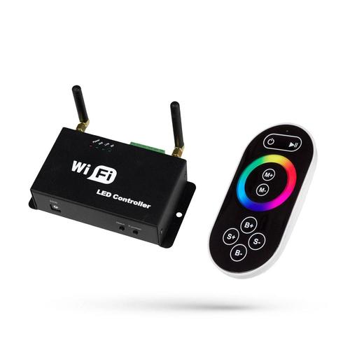 Rgb Controller Play Mini Ii Wifi With Remote For Led Strips / For Led Strips 5 24 V Dc 3 X4 A