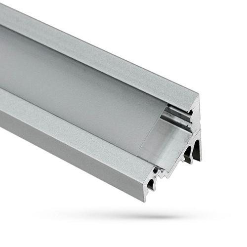 Wojcorner Aluminum Profile With Milk Cover 1 Mb Lampshade B