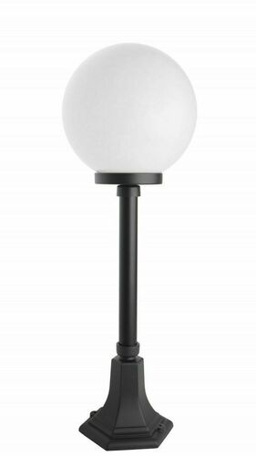 Classic standing ball lamp for the garden (74 cm)