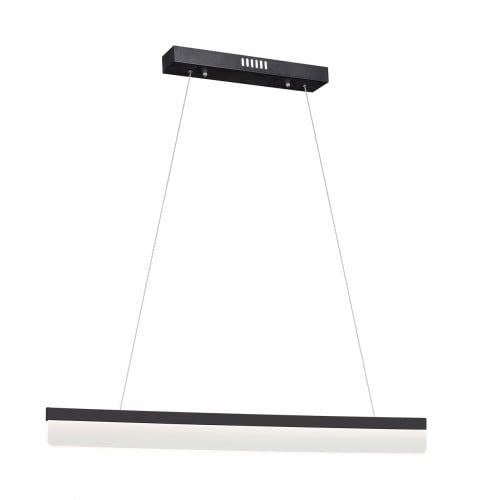 Modern Black pendant lamp Milagro BEAM 400 18W 1260 lm