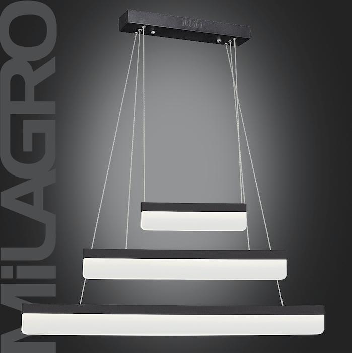 Modern Sand and Black Suspension lamp BEAM 403 LED 36W 2520 lm