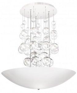 Lampa wisząca Perla Bianco 857 1x42W LED biała