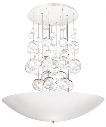 Hanging lamp Perla Bianco 857 1x42W LED white