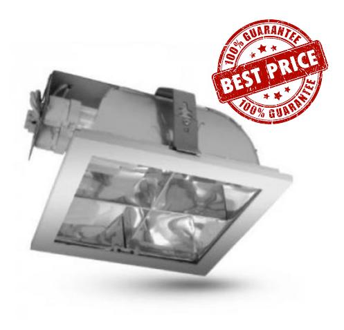 ENZO 226C 2xG24 luminaire - silver