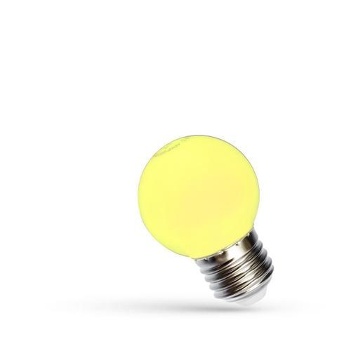 Led ball E 27 230 V 1 W Yellow Spectrum