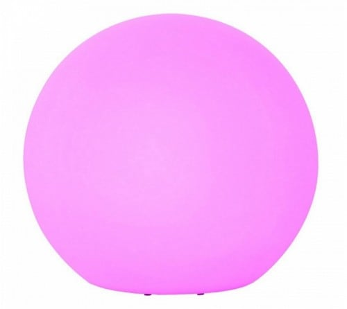 Large garden ball changing color with remote control 77 cm diameter, 1x3W LED RGB
