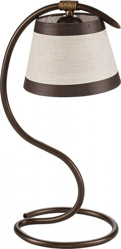 Table lamp Alba Brown E27 1 x 60W