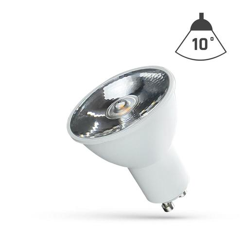 Led Gu10 230 V 6 W Smd 10 St Cw With Spectrum Lens