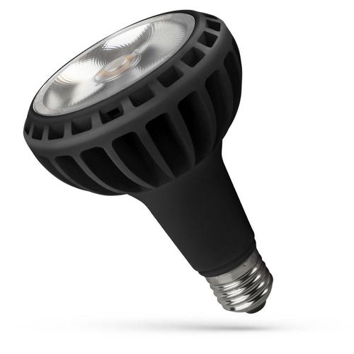 Led Par30 E27 230 V 20 W Cob 24 St Ww Black Spectrum