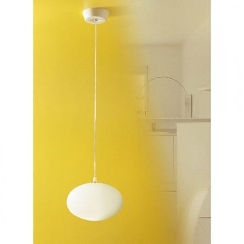 Hanging lamp Meltemi Maga White