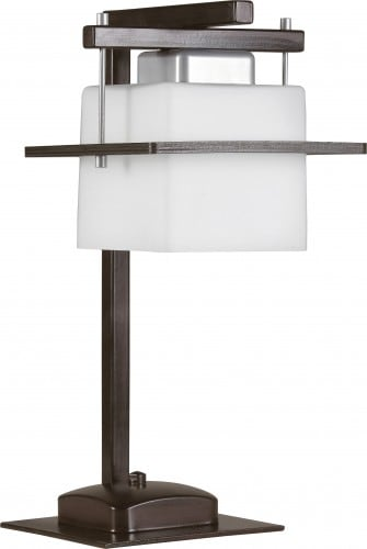 Table lamp Delta Wenge E27 1 x 60W