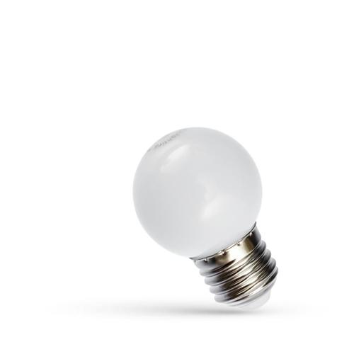 Led ball E 27 230 V 1 W White Spectrum