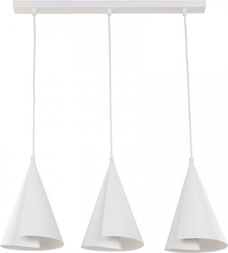 Hanging lamp Emu 3 Simple Hanging White White E27 3 x 60W