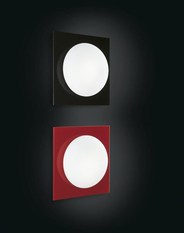 Wall Sconce Murano Due (Leucos) Mini Gio Black / White 40W G9