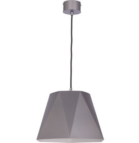 Hanging lamp Ice M Silver Silver E27 1 x 60W