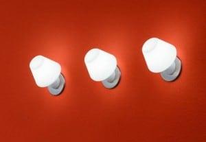 Wall light Murano Due (Leucos) Siesta Mini 40W G9 small 2