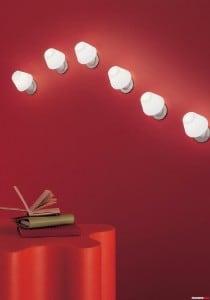 Wall light Murano Due (Leucos) Siesta Mini 40W G9 small 3