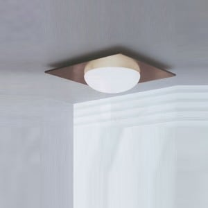 Wall lamp / Plafond Murano Due (Leucos) Gio 40 Wenge 2x75W small 0