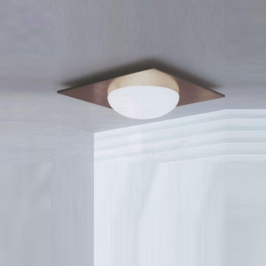 Wall lamp / Plafond Murano Due (Leucos) Gio 40 Wenge 2x75W