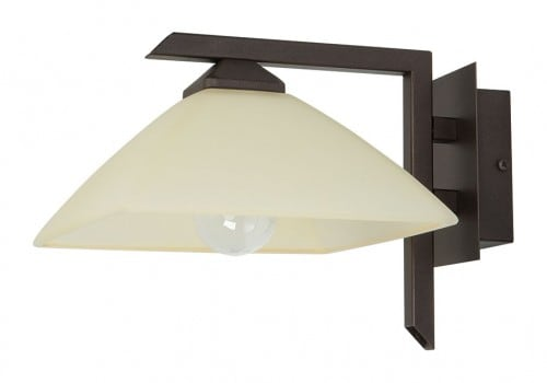 Wall light Kent Brown E27 1 x 60W