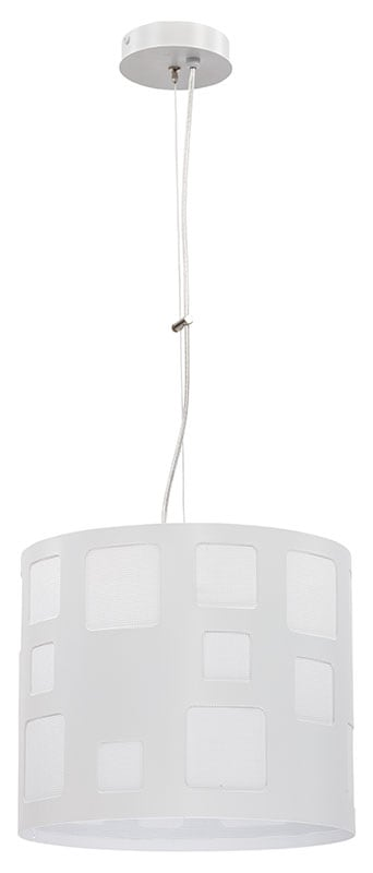 Hanging lamp Module Squares M Overhanging White E27 1 x 60W