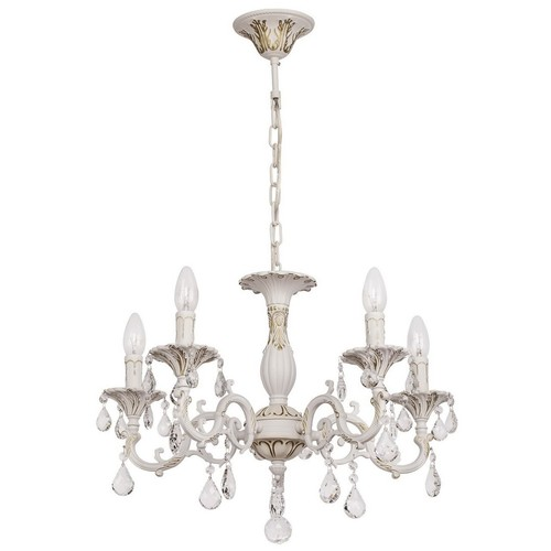 Chandelier Candle Classic 5 White - 301014605