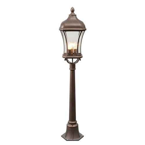 Garden lamp Chateau Street 3 Brown - 800040203