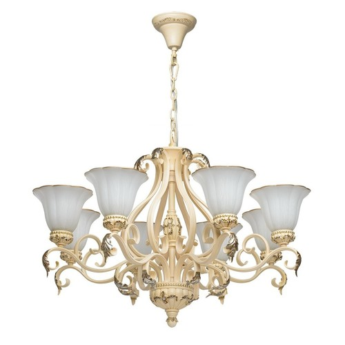 Chandelier Bologna Country 8 Beige - 254014108