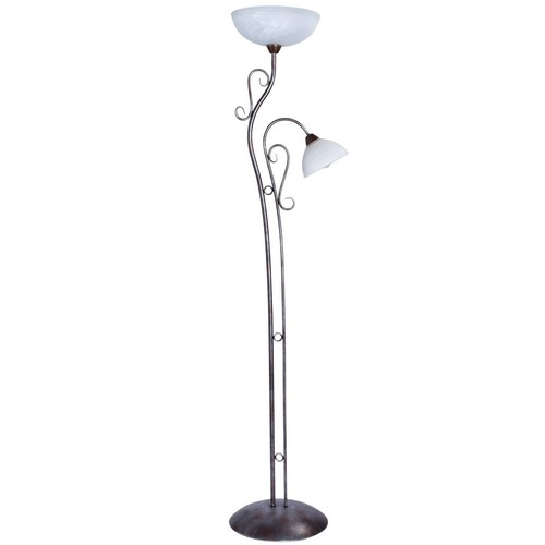 Aida Country 2 Floor Lamp Brown - 323042902