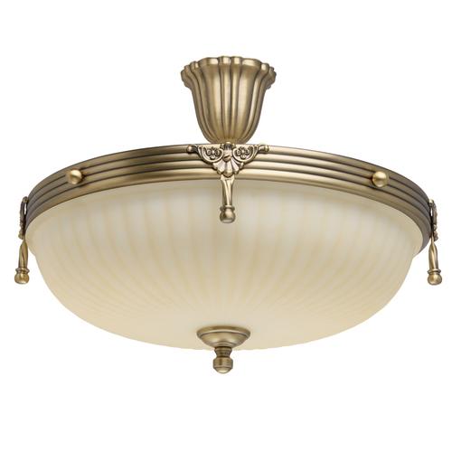 Hanging lamp Aphrodite Classic 4 Brass - 317011504