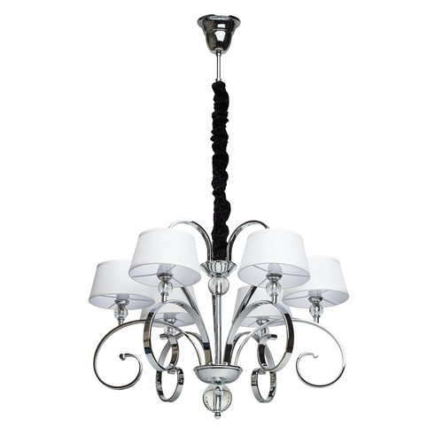 Chandelier Palermo Elegance 6 Chrome - 386013506