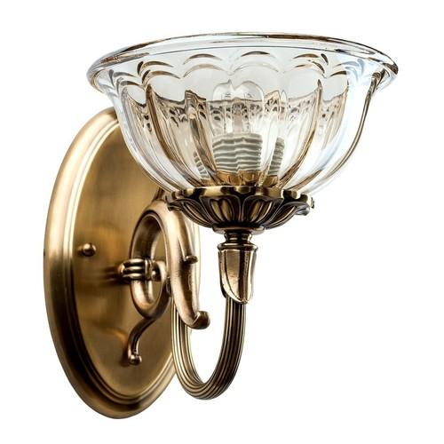 Sconce Paula Classic 1 Brass - 411021001