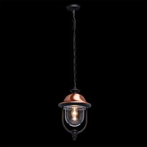 Outdoor pendant lamp Dubai Street 1 Black - 805010401 small 1
