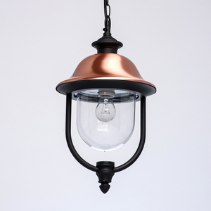 Outdoor pendant lamp Dubai Street 1 Black - 805010401 small 2
