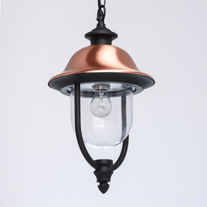 Outdoor pendant lamp Dubai Street 1 Black - 805010401 small 4